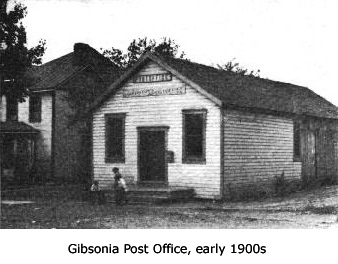 Gibsonia Post Office, early 1900s
