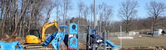 NEW Richland Park Playgrounds and Splash Pad – Opening May 2019!