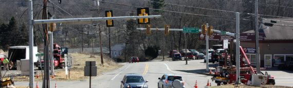 New Traffic Signal – Route 910 & Hardt Road Intersection