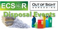 Household Hazardous Waste & Document Shredding Events