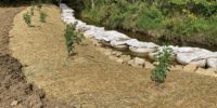 West Branch Deer Creek Stabilization Project at Rt 910 Complete