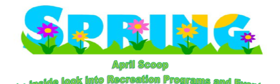 """View the April Edition of """"The Scoop"""" – Richland's Monthly Program Guide"""