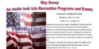 "View the May Edition of ""The Scoop"" - Richland's Monthly Program Guide"